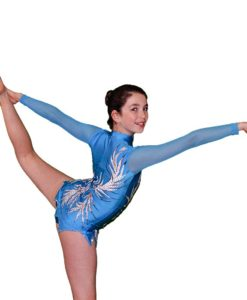 Flamingo Sportswear - Blue Queen Gymnastics Leotard