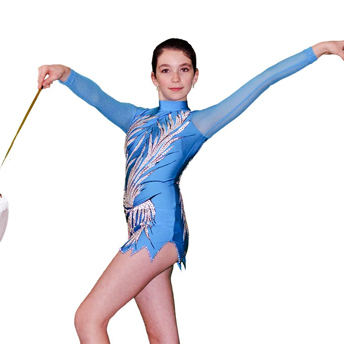 Blue Queen Gymnastics Leotard - Flamingo Sportswear