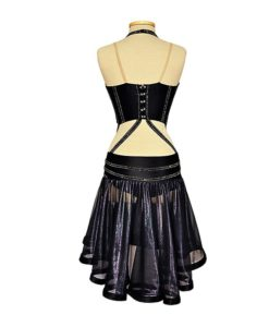 Black Latin Ballroom Dance Competition Dress