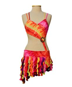 Cute Custom Dance Competition Costume - Dress