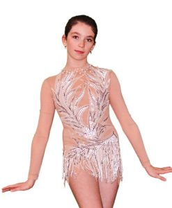 Gymnastics Leotard for Girls - Snow Queen - FlamingoSportswear