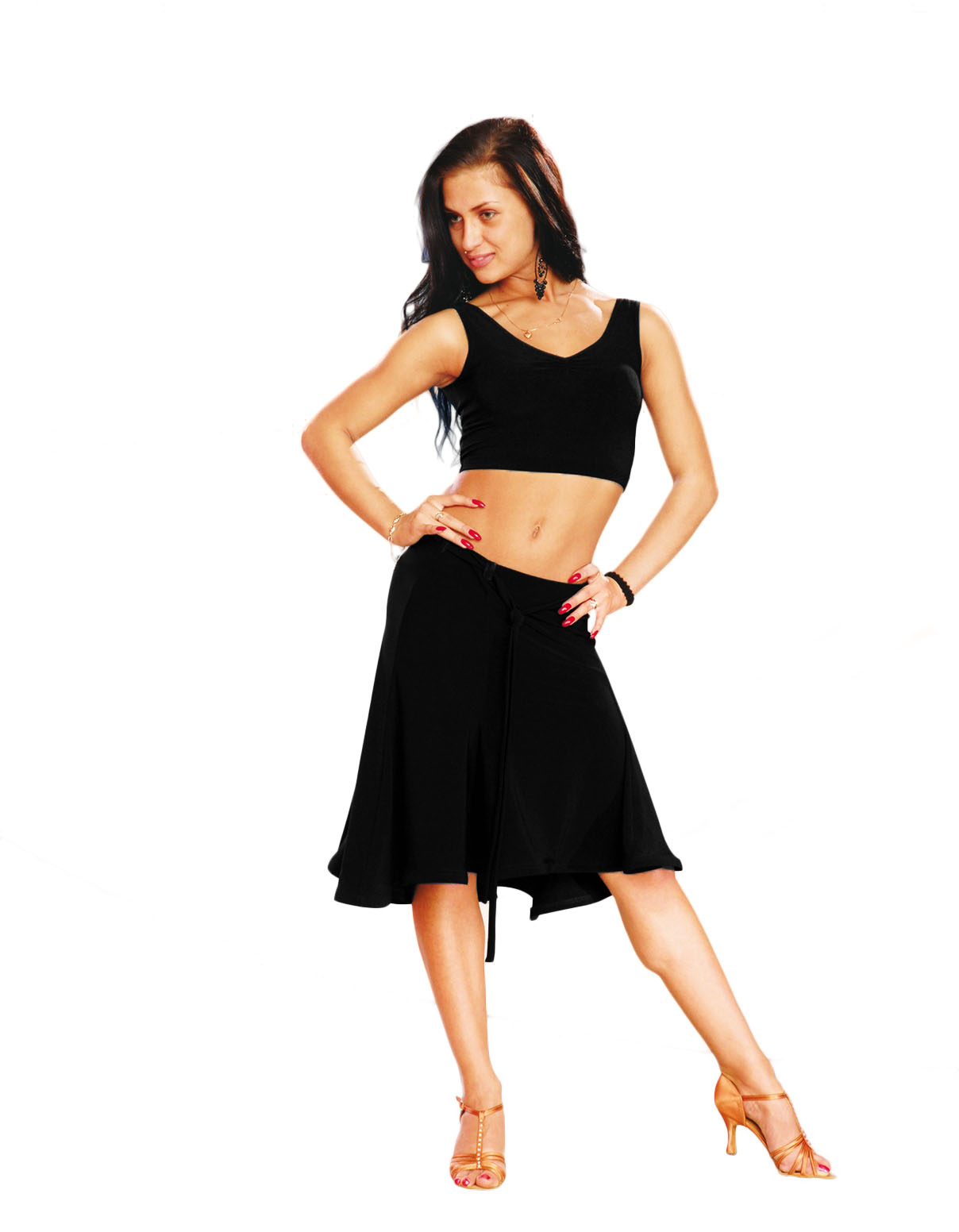 Latin Dance Costume Dress