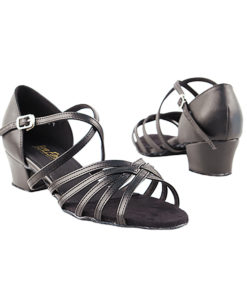 Very Fine Dance Shoes - 1670C - Black Leather  1.5-inch Heel size 10 - 1.5-inch heel