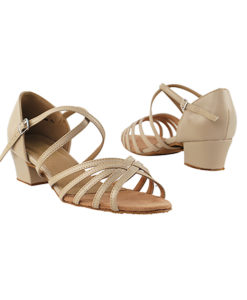 Very Fine Dance Shoes - 1670C - Tan Leather  1.5-inch Heel size 10 - 1.5-inch heel