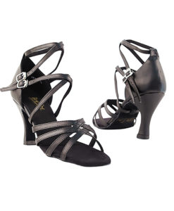 Very Fine Dance Shoes - 5008 - Black Leather size 10 - 3-inch heel