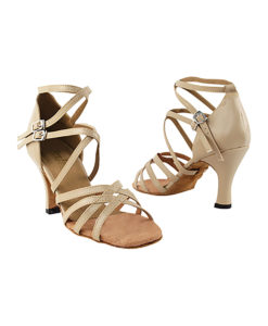 Very Fine Dance Shoes - 5008 - Tan Leather size 10 - 3-inch heel
