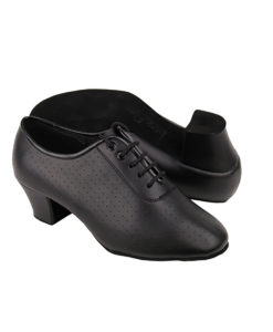 Very Fine Dance Shoes - C2001 - Black Leather size 10 - 1.6-inch heel