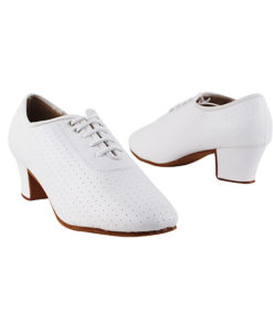Very Fine Dance Shoes - C2001 - White Leather size 10 - 1.6-inch heel