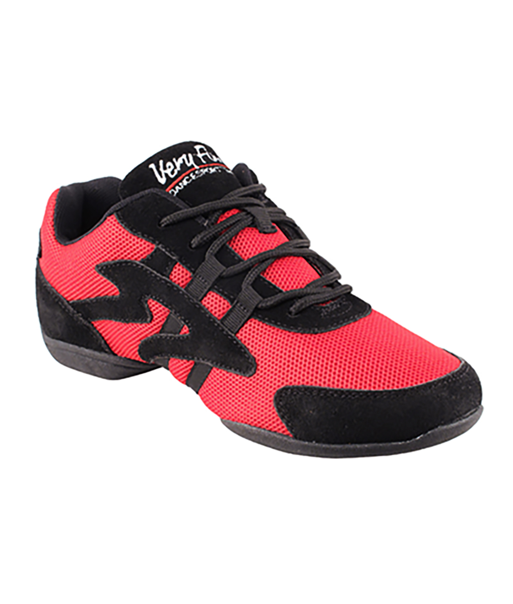 Very Fine Dance Sneakers - VFSN012 - Red size 10 B(M) US Women / 8.5 D(M) US Men