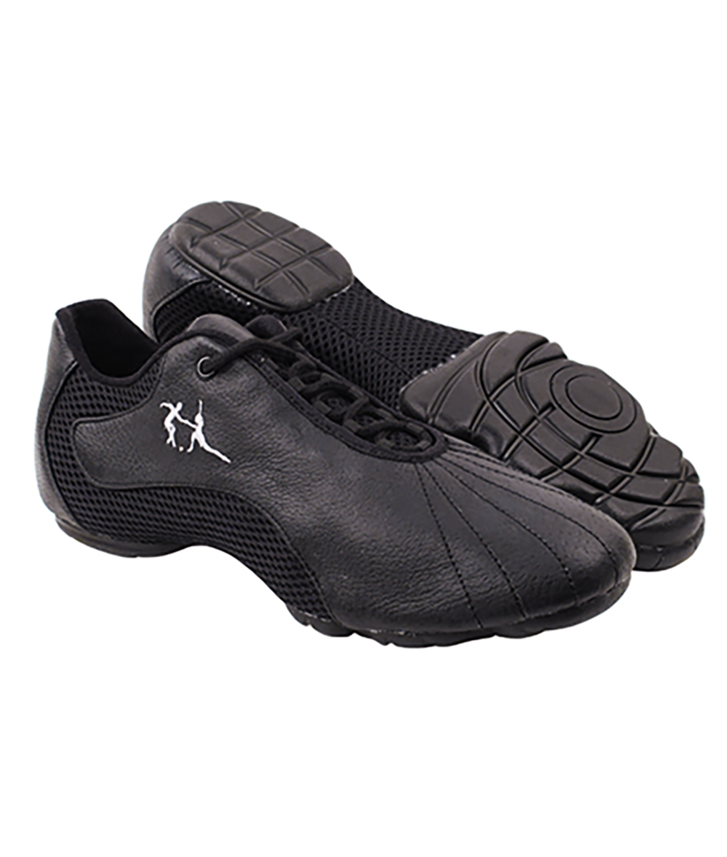 86b7d6e88 Very Fine Dance Sneakers - VFSN016 - Black Leather | Flamingo Sportswear