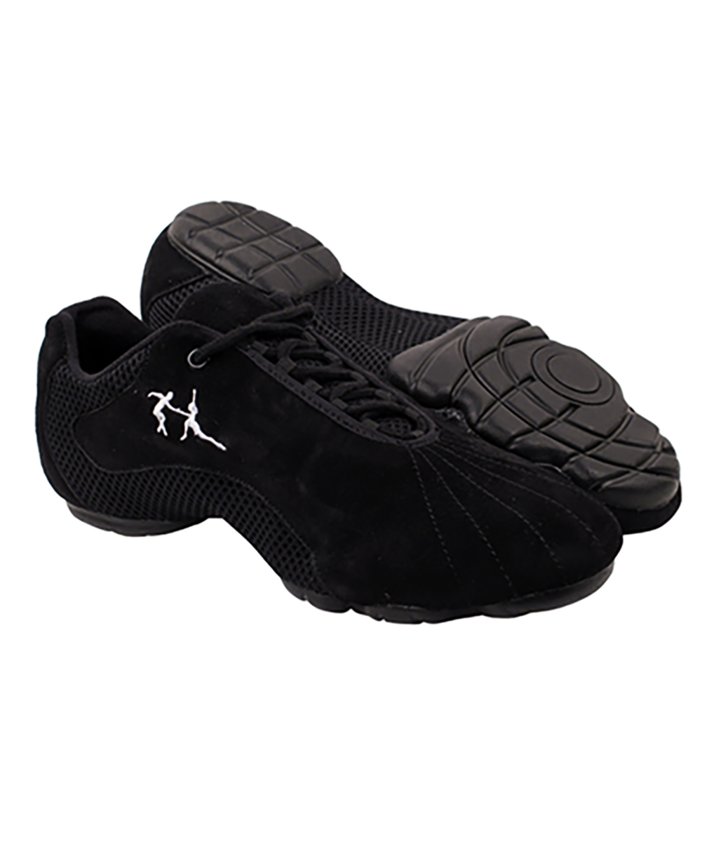 Very Fine Dance Sneakers - VFSN016 - Black Suede size 15 B(M) US Women / 13.5 D(M) US Men