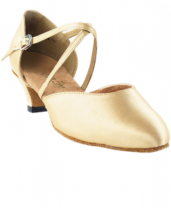 Very Fine Ladies Practice, Cuban Low Heel Dance Shoes - Classic Series 9691
