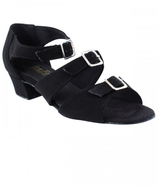 Very Fine Ladies Practice, Cuban Low Heel Dance Shoes - Classic Series 1679