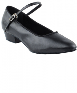 Very Fine Ladies Practice, Cuban Low Heel Dance Shoes - Classic Series Flat Heel Edition 1682FT
