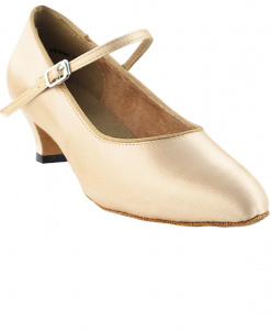 Very Fine Ladies Practice, Cuban Low Heel Dance Shoes - Classic Series 3008