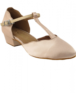 Very Fine Ladies Practice, Cuban Low Heel Dance Shoes - Classic Series Flat Heel Edition 6819FT