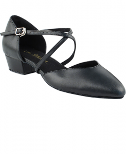 Very Fine Ladies Practice, Cuban Low Heel Dance Shoes - Classic Series Flat Heel Edition 9691FT