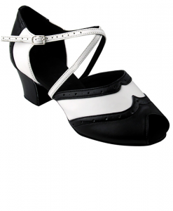 Very Fine Ladies Practice, Cuban Low Heel Dance Shoes - C-Series C6035