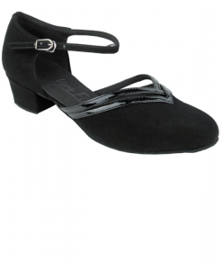 Very Fine Ladies Practice, Cuban Low Heel Dance Shoes - C-Series C8881