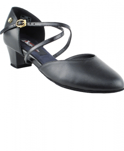 Very Fine Ladies Practice, Cuban Low Heel Dance Shoes - Competitive Dancer Series CD1123DB