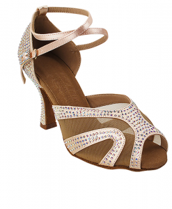 Very Fine Ladies Latin, Rhythm, Salsa Dance Shoes - Crystal Collection S1005CC