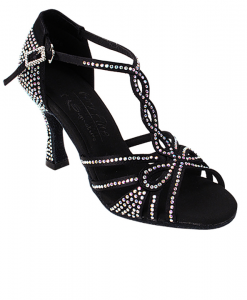 Very Fine Ladies Latin, Rhythm, Salsa Dance Shoes - Crystal Collection S1008CC