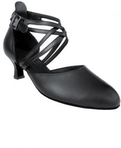 Very Fine Ladies Practice, Cuban Low Heel Dance Shoes - Signature Series S9110