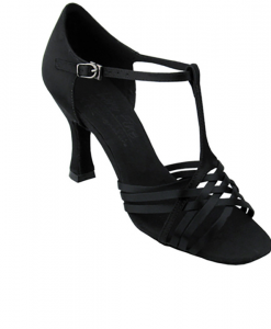 Very Fine Ladies Practice, Cuban Low Heel Dance Shoes - Signature Series S92304