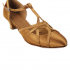 Very Fine Ladies Practice, Cuban Low Heel Dance Shoes - Salsera Series SERA3541